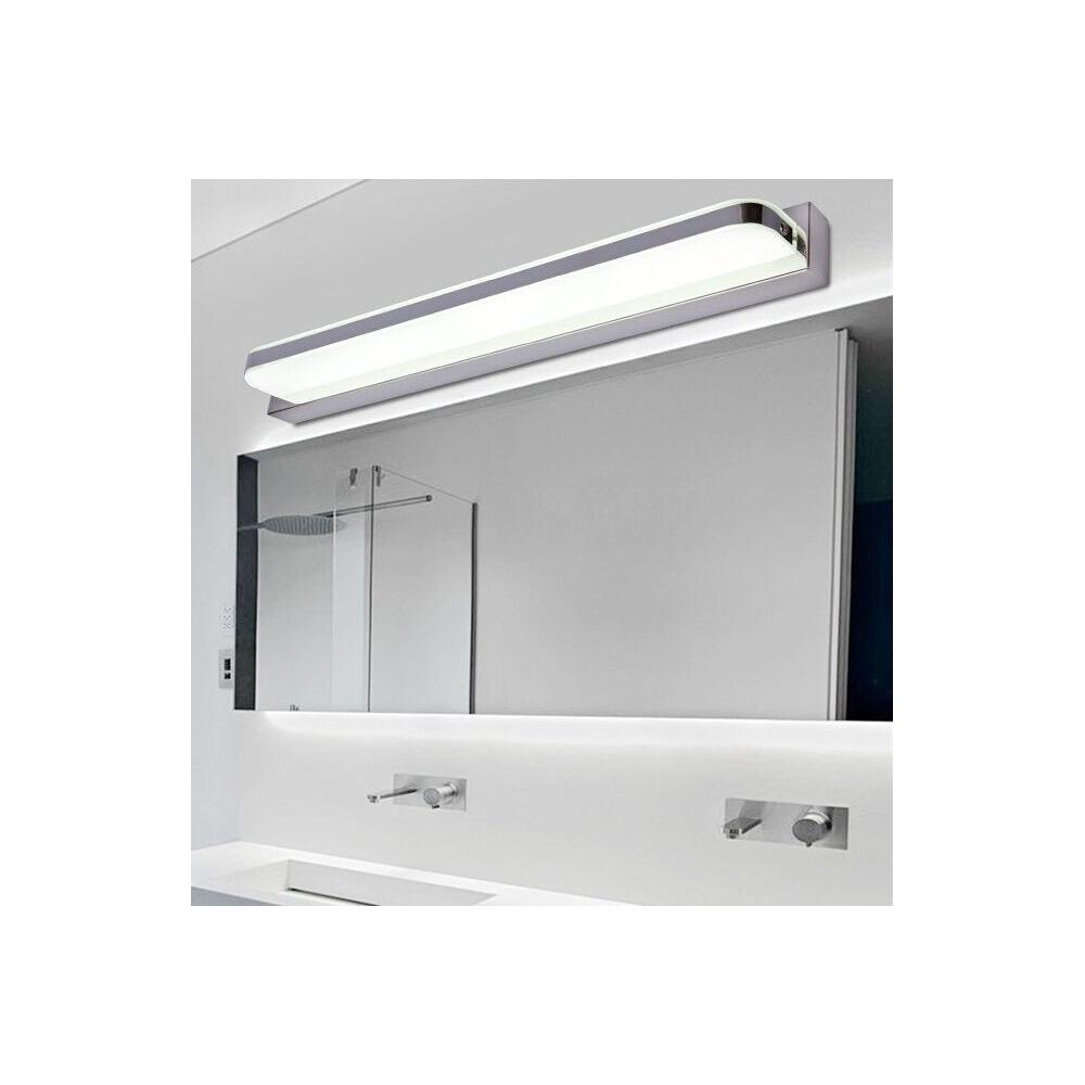 Aplique led espejo 10w 15w cromo - Led para banos ...