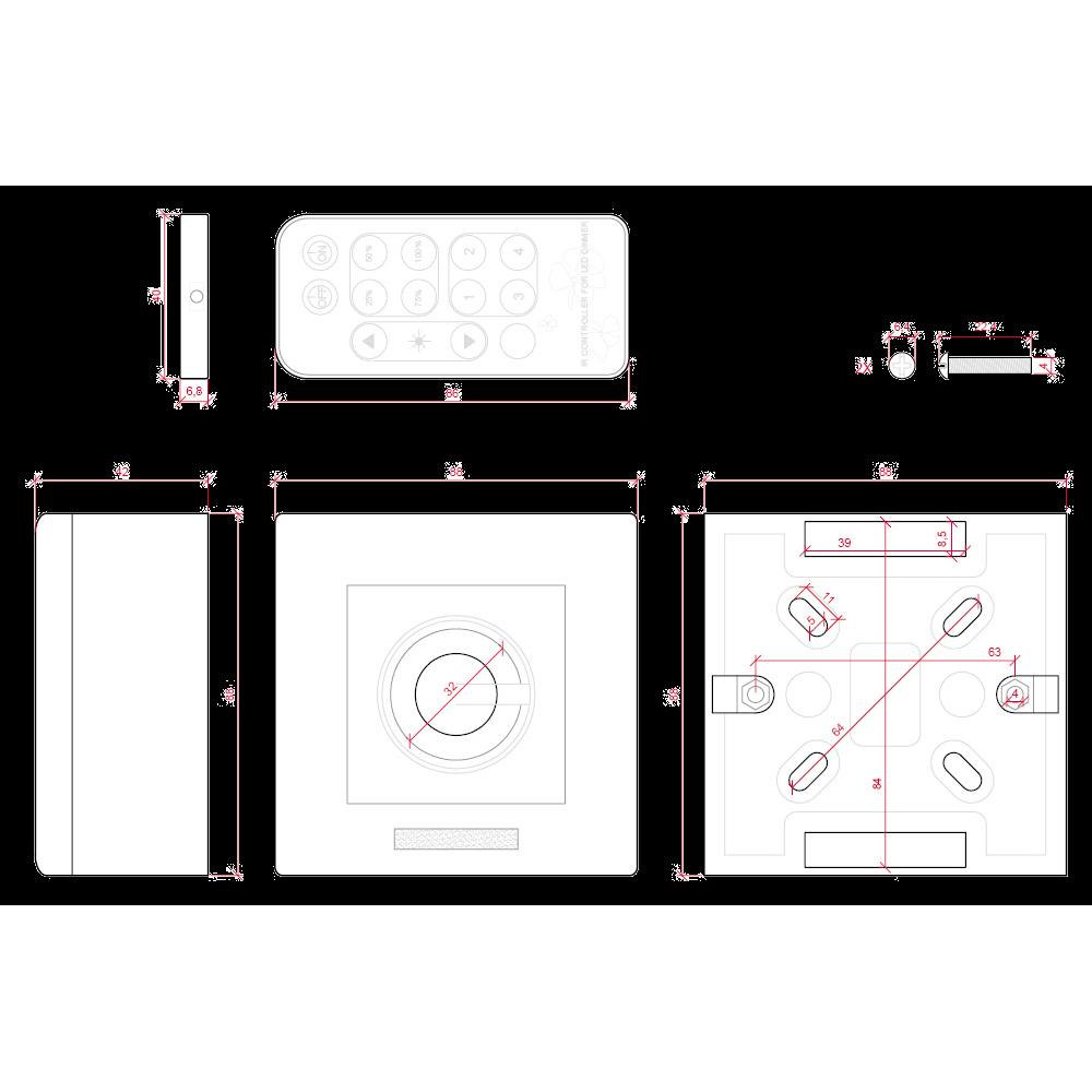 Regulador bombillas led con mando a distancia - Bombillas led regulables ...