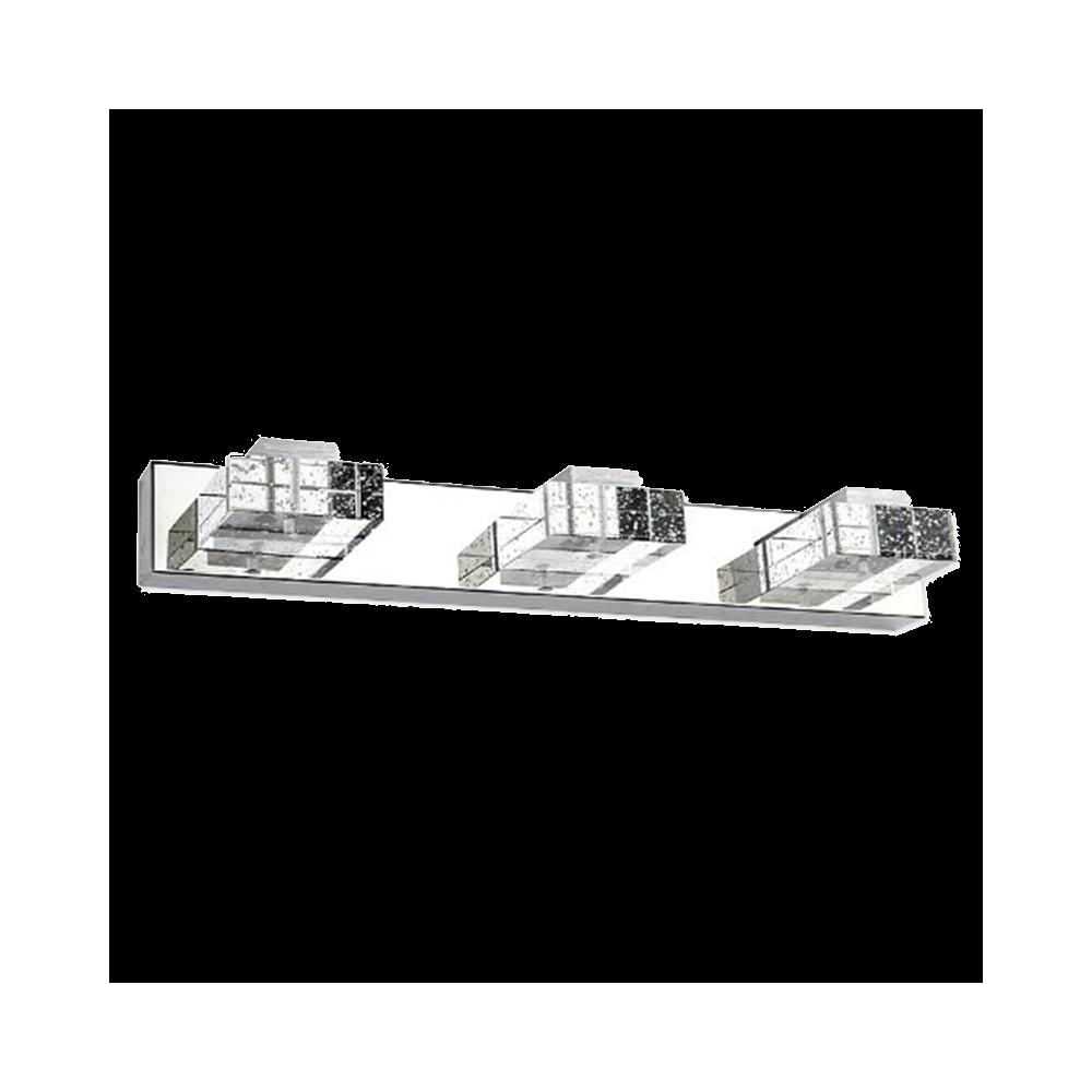 Aplique led espejo 9w cristal - Aplique espejo bano ...